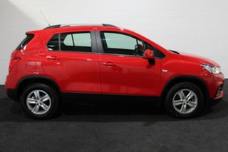 2018 Holden Trax TJ MY18 LS Red/Black 6 Speed Automatic Wagon.