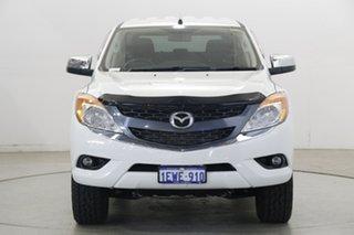 2015 Mazda BT-50 UP0YF1 XTR White 6 Speed Sports Automatic Utility.