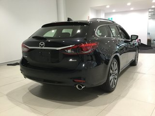 2019 Mazda 6 GL1033 GT SKYACTIV-Drive Jet Black 6 Speed Sports Automatic Wagon.
