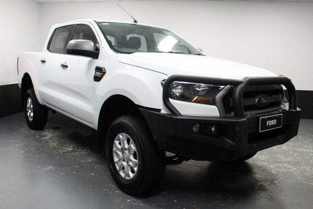 Used Ford Ranger PX MkII XLS Double Cab Cardiff, 2017 Ford Ranger PX MkII XLS Double Cab White 6 Speed Sports Automatic Utility