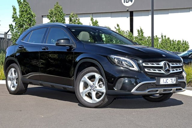 Used Mercedes-Benz GLA-Class X156 808MY GLA220 d DCT Essendon Fields, 2017 Mercedes-Benz GLA-Class X156 808MY GLA220 d DCT Black 7 Speed Sports Automatic Dual Clutch