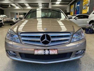 2008 Mercedes-Benz C-Class W204 C200 Kompressor Classic Beige Sports Automatic Sedan.