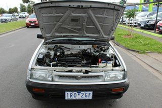 1990 Nissan Pintara TI Silver 4 Speed Automatic Sedan