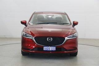2019 Mazda 6 GL1033 Sport SKYACTIV-Drive Burgundy 6 Speed Sports Automatic Sedan.