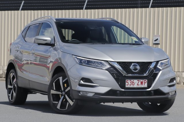 Demo Nissan Qashqai J11 Series 3 MY20 Ti X-tronic Bundamba, 2020 Nissan Qashqai J11 Series 3 MY20 Ti X-tronic Platinum 1 Speed Constant Variable Wagon