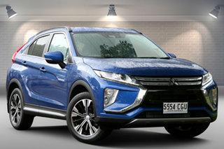 2020 Mitsubishi Eclipse Cross YA MY20 LS 2WD Blue 8 Speed Constant Variable Wagon.