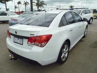 2012 Holden Cruze JH Series II MY12 SRi White 6 Speed Sports Automatic Sedan