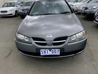 2003 Nissan Pulsar N16 MY03 Q Grey 5 Speed Manual Hatchback