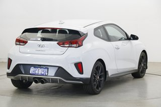 2019 Hyundai Veloster JS MY20 Turbo Coupe D-CT Chalk White 7 Speed Sports Automatic Dual Clutch