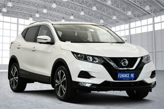 2018 Nissan Qashqai J11 Series 2 ST-L X-tronic White 1 Speed Constant Variable Wagon