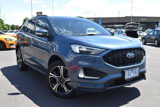 Used Ford Endura CA 2019MY ST-Line Essendon Fields, 2019 Ford Endura CA 2019MY ST-Line Blue Metallic 8 Speed Sports Automatic Wagon