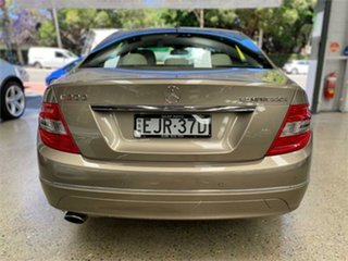 2008 Mercedes-Benz C-Class W204 C200 Kompressor Classic Beige Sports Automatic Sedan