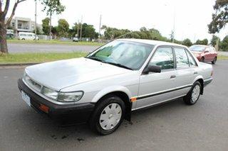 1990 Nissan Pintara TI Silver 4 Speed Automatic Sedan