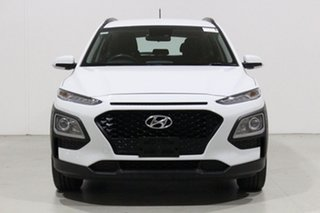 2019 Hyundai Kona OS.3 MY20 Active (FWD) White 6 Speed Automatic Wagon.