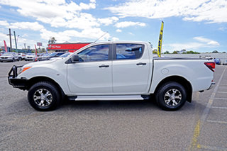 2013 Mazda BT-50 UP0YF1 XT White 6 Speed Manual Utility