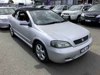 2004 Holden Astra TS Convertible Silver 4 Speed Automatic Convertible.