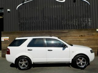 2005 Ford Territory SX TX White 4 Speed Sports Automatic Wagon.