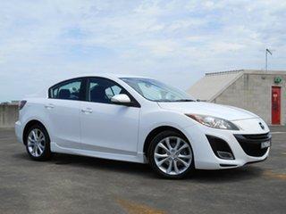 2009 Mazda 3 BL10L1 SP25 White 6 Speed Manual Sedan.