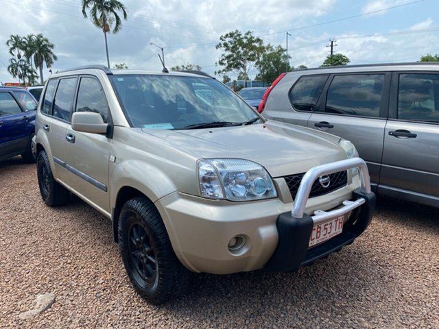 Used Nissan X-Trail T30 II MY06 ST Pinelands, 2007 Nissan X-Trail T30 II MY06 ST Gold 5 Speed Manual Wagon