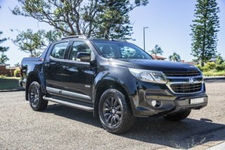 2017 Holden Colorado RG MY18 Z71 Pickup Crew Cab Black 6 Speed Sports Automatic Utility.