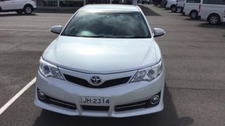 2011 Toyota Camry ASV50R Atara S Pearl White 6 Speed Sports Automatic Sedan.