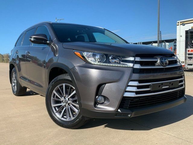 Used Toyota Kluger GSU50R GXL 2WD Townsville, 2018 Toyota Kluger GSU50R GXL 2WD Grey 8 Speed Sports Automatic Wagon
