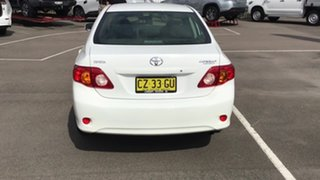 2010 Toyota Corolla ZRE152R MY11 Ascent White 4 Speed Automatic Sedan