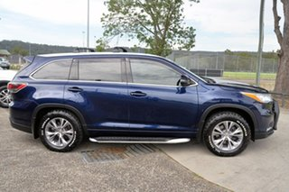 2014 Toyota Kluger GSU55R GXL AWD Blue 6 Speed Sports Automatic Wagon.