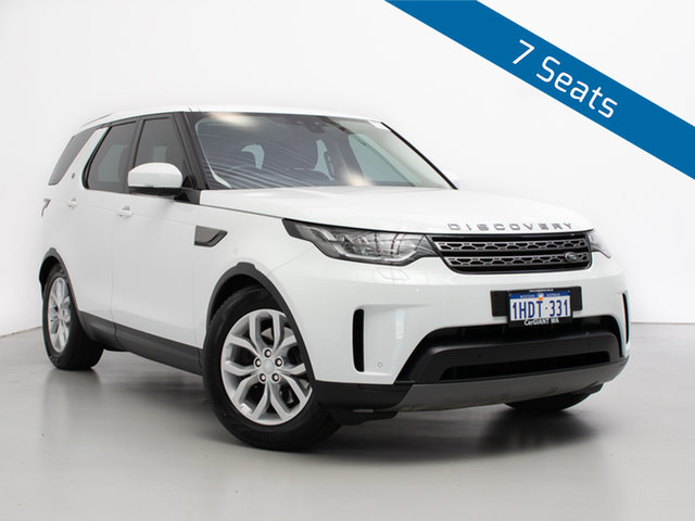 Used Land Rover Discovery MY17 SE, 2017 Land Rover Discovery MY17 SE Fuji White 8 Speed Automatic Wagon