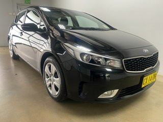 2017 Kia Cerato YD MY18 S Black 6 Speed Auto Seq Sportshift Hatchback.
