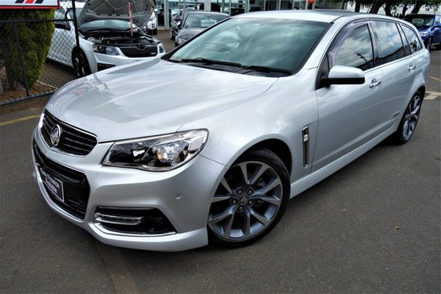 Used Holden Commodore VF MY14 SS V Sportwagon Seaford, 2013 Holden Commodore VF MY14 SS V Sportwagon Silver 6 Speed Sports Automatic Wagon