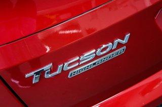 2018 Hyundai Tucson TL3 MY19 Highlander CRDi (AWD) Red 8 Speed Automatic Wagon