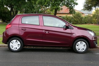 2019 Mitsubishi Mirage LA MY19 ES Red 1 Speed Constant Variable Hatchback