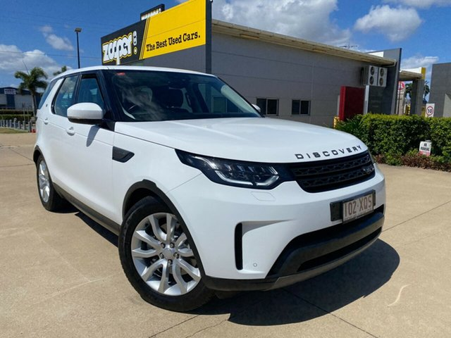 Used Land Rover Discovery Series 5 L462 MY17 S Townsville, 2017 Land Rover Discovery Series 5 L462 MY17 S White 8 Speed Sports Automatic Wagon