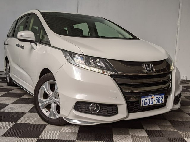 Used Honda Odyssey RC MY18 VTi Victoria Park, 2018 Honda Odyssey RC MY18 VTi White 7 Speed Constant Variable Wagon