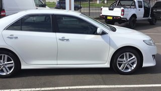 2011 Toyota Camry ASV50R Atara S Pearl White 6 Speed Sports Automatic Sedan