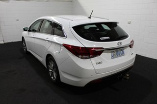 2018 Hyundai i40 VF4 Series II Active Tourer D-CT Pure White 7 Speed Sports Automatic Dual Clutch