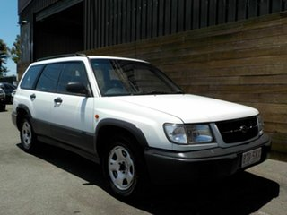 1999 Subaru Forester 79V MY99 Limited AWD White 4 Speed Automatic Wagon.