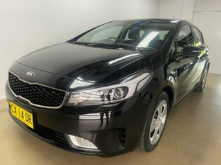 2017 Kia Cerato YD MY18 S Black 6 Speed Auto Seq Sportshift Hatchback