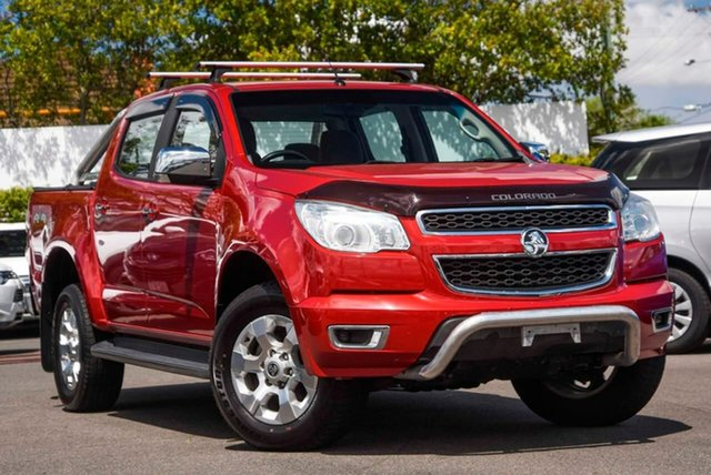 Used Holden Colorado RG MY16 LTZ Crew Cab Mount Gravatt, 2016 Holden Colorado RG MY16 LTZ Crew Cab Red 6 Speed Sports Automatic Utility