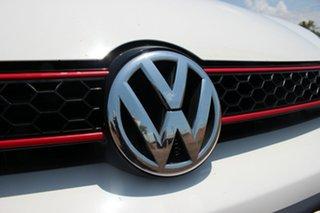 2012 Volkswagen Golf VI MY12.5 GTi White Nova 6 Speed Manual Hatchback
