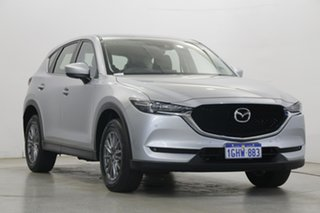 2017 Mazda CX-5 KF4WLA Touring SKYACTIV-Drive i-ACTIV AWD Silver 6 Speed Sports Automatic Wagon