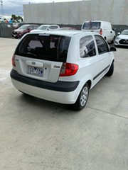 2008 Hyundai Getz TB MY07 S White 5 Speed Manual Hatchback