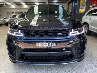 2020 Land Rover Range Rover Sport L494 V8SC SVR Carbon Edition Santorini Black Sports Automatic.