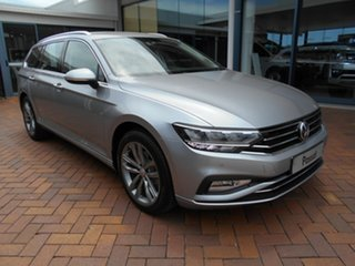 2020 Volkswagen Passat 3C (B8) MY20 140TSI DSG Business Pyrit Silver Metallic 7 Speed.