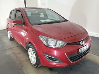 2014 Hyundai i20 PB MY14 Active Red 6 Speed Manual Hatchback.