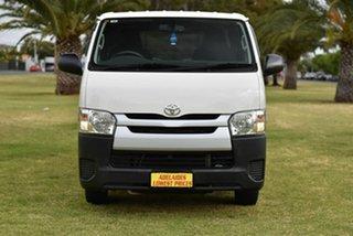 2017 Toyota HiAce KDH201R LWB White 5 Speed Manual Van.