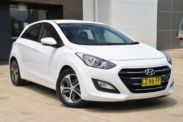 Used Hyundai i30 GD4 Series II MY16 Active X DCT Tuggerah, 2015 Hyundai i30 GD4 Series II MY16 Active X DCT White 7 Speed Sports Automatic Dual Clutch