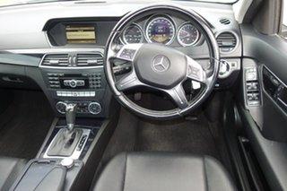 2011 Mercedes-Benz C-Class W204 MY11 C200 BlueEFFICIENCY 7G-Tronic + Elegance White 7 Speed