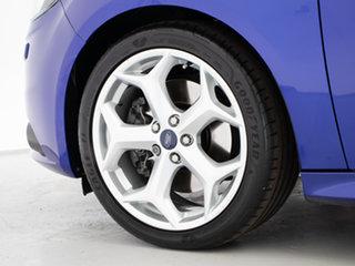2013 Ford Focus LW MK2 ST Blue 6 Speed Manual Hatchback